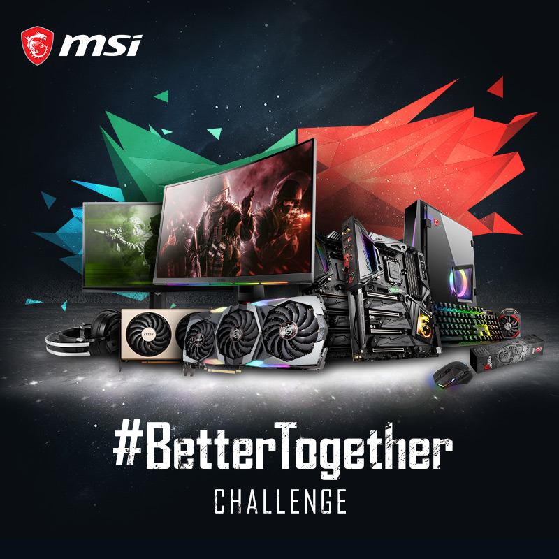 #BetterTogether Challenge 2! You Could Win Your Choice Of Parts To Build A PC Up To $4000! Giveaway Image
