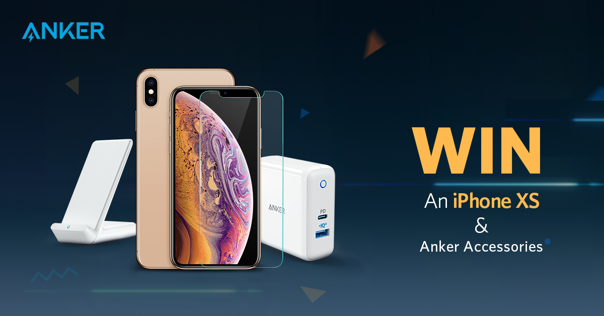 Win an iPhone XS and Anker Accessories