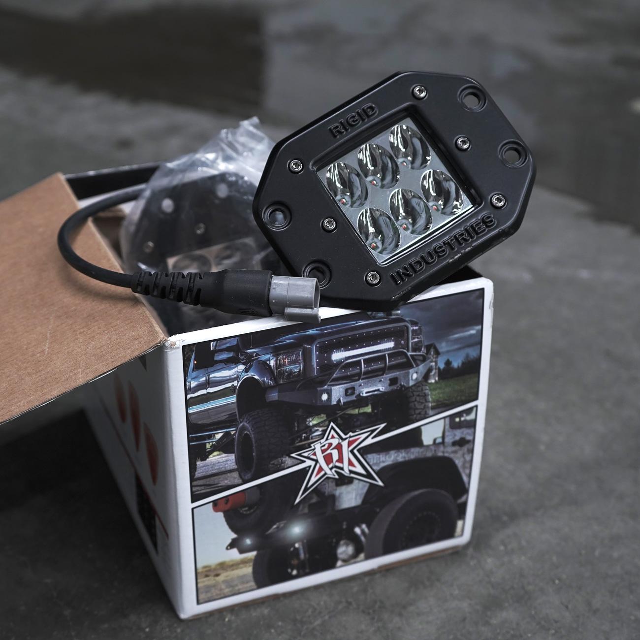 Rigid D2 Flush Mount LED Pod Lights Giveaway Giveaway Image