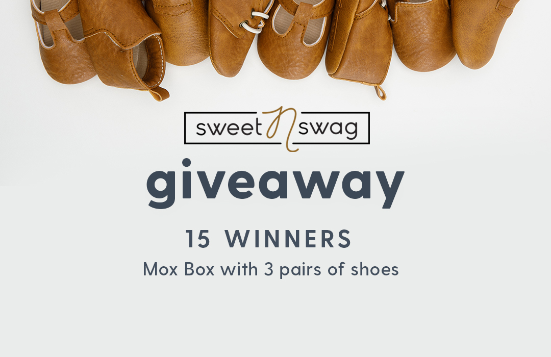 Enter for a chance to win a Mox Box with three pairs of shoes from Sweet N Swag! 15 Winners! Giveaway Image