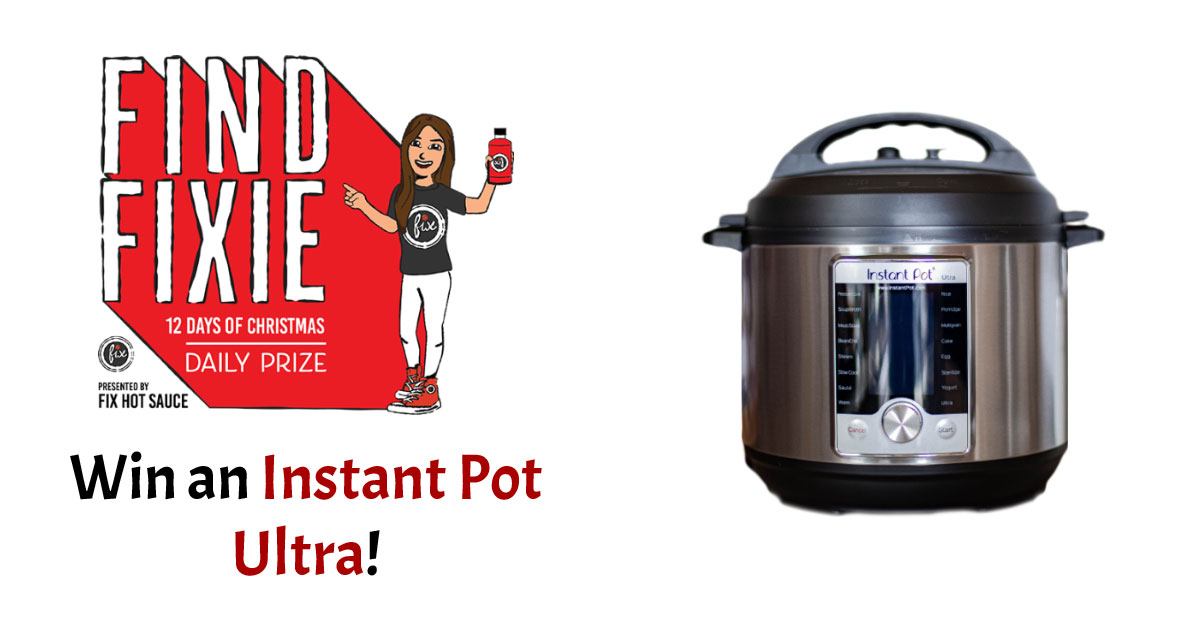 Win an Instant Pot Ultra Giveaway Image