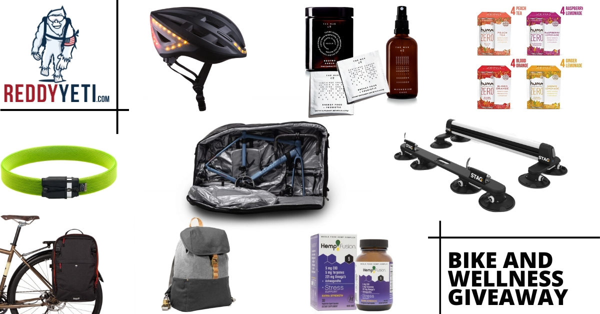 2500$+ Bike and Wellness Gear Giveaway 05/26/2020 Giveaway Image