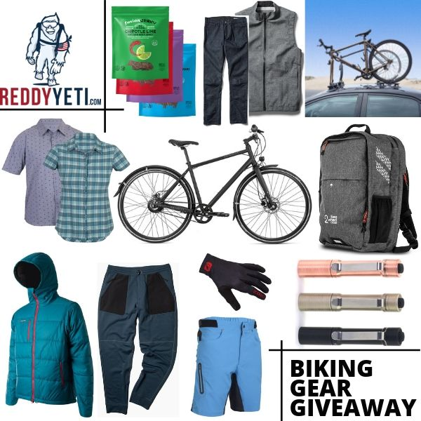 $3,958 Bike Gear giveaway {US & Can} Giveaway Image