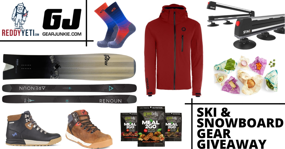 Vermont Ski Gear Giveaway - Win Ski and Snowboard Gear! Arv $4200 Giveaway Image