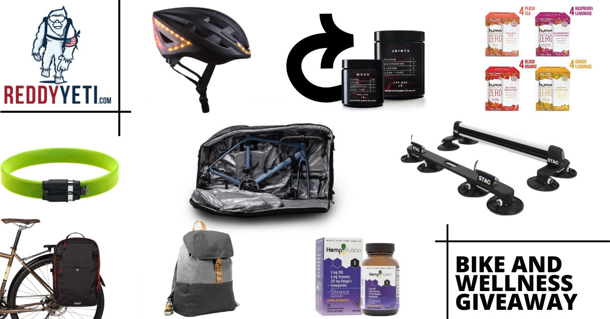 2500$+ Bike and wellness Gear Giveaway Giveaway Image