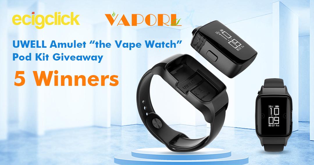 Win 1 of 5x Uwell Amulet Pod Watch Kits Giveaway Image
