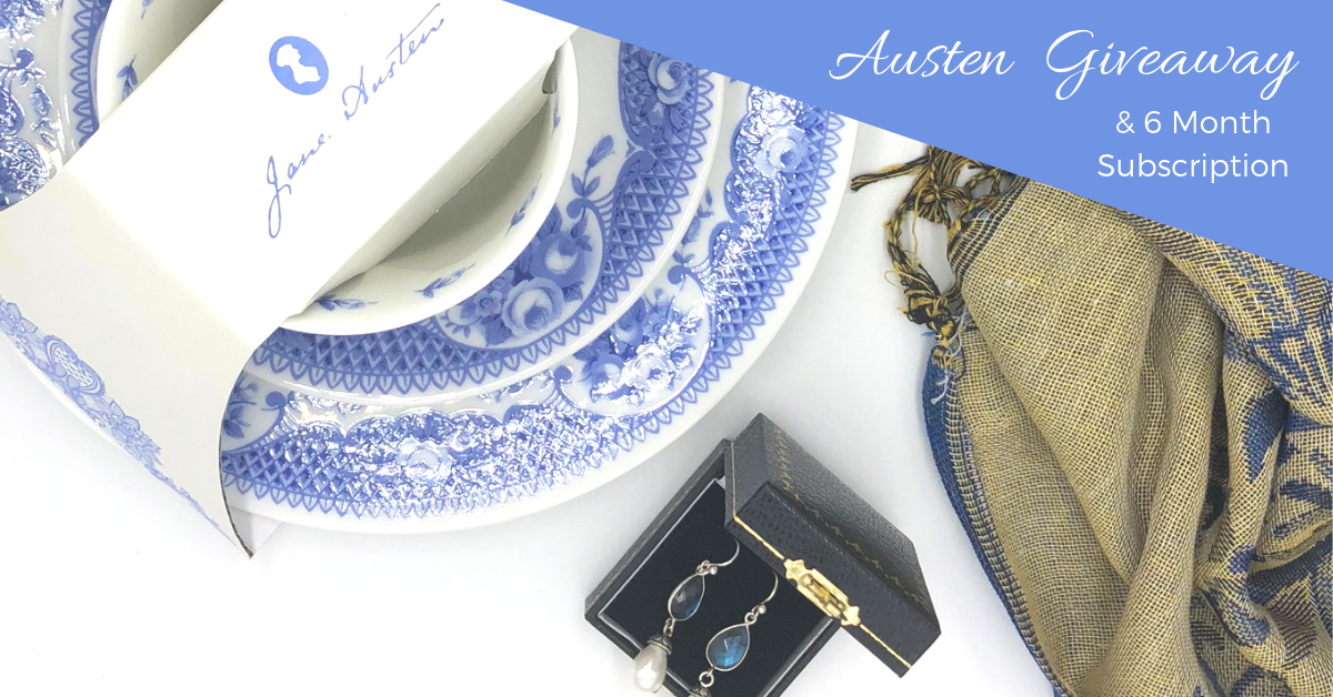 WIN a 6 month subscription and Jane Austen Gifts worth over £400 Giveaway Image