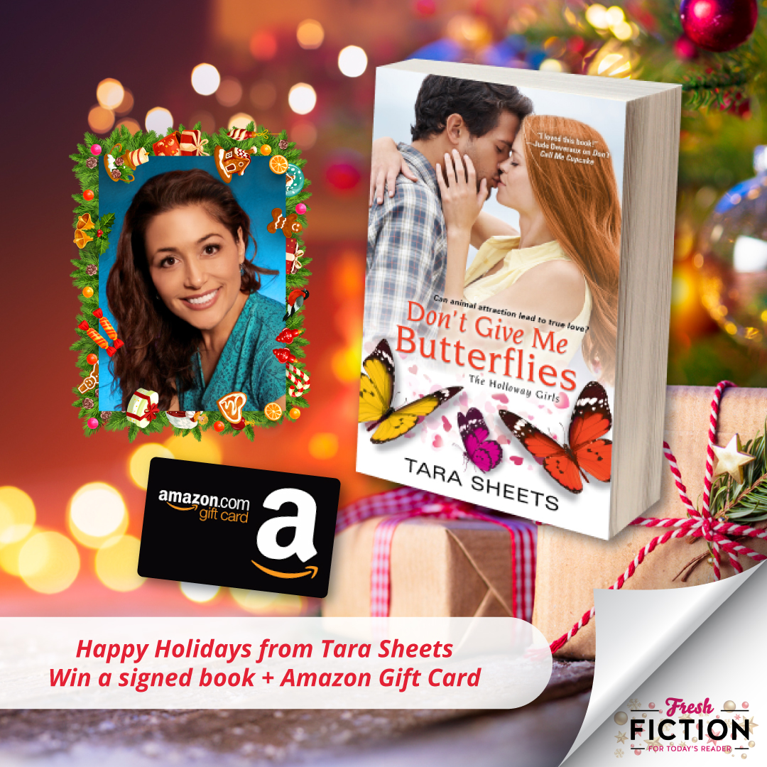 Win a book plus a $25 Amazon Gift Card!  12/9/19 Giveaway Image
