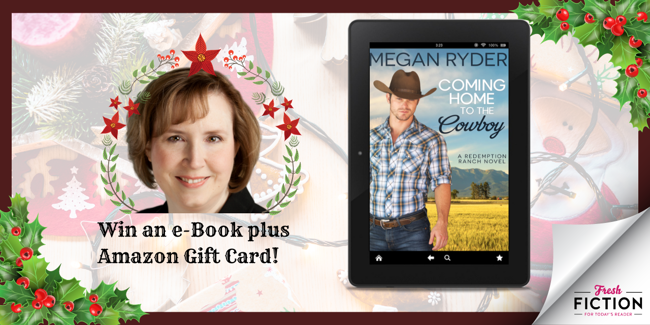 Enter to win an Amazon Gift Card from author Megan Ryder Giveaway Image