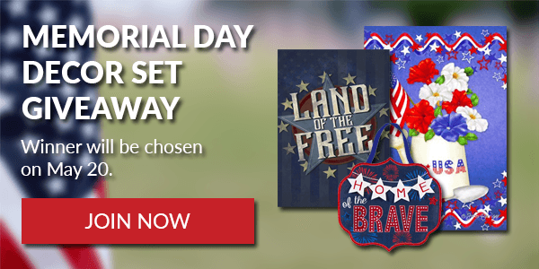 Memorial Day Decor Gift Set Giveaway Giveaway Image