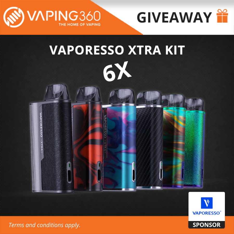 6 WINNERS!! Vaporesso Xtra Kit Giveaway Image
