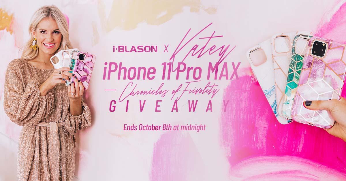 Chronicles of Frivolity: iPhone 11 Pro Max GIVEAWAY | i-Blason x Katey McFarlan Giveaway Image